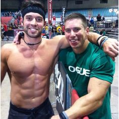 Rich Froning and Dan Bailey #crossfit