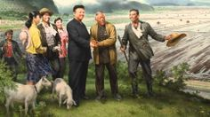 Kim Jong Il? Kim Jong Il, Socialist Realism, Fictional Characters, Art, Art Background, Kunst, Performing Arts, Fantasy Characters, Art Education Resources