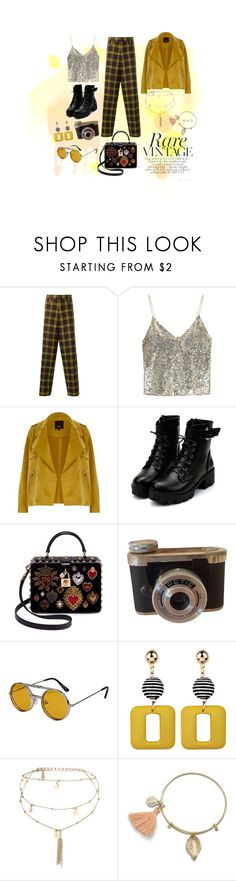 """Untitled #23"" by venahoran on Polyvore featuring Marni, Alice + Olivia, River Island, Dolce&Gabbana, Spitfire and Ettika"