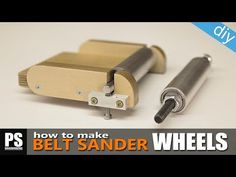 (1504) Easy-to-make Belt Sander/Grinder Wheels - YouTube