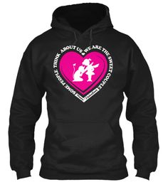 Valentines Gifts For Sweet Coupoles Black Sweatshirt Front