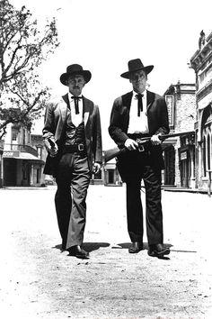 Kirk Douglas & Burt Lancaster for Gunfight at the O.K. Corral