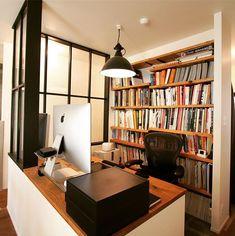 荻窪 戸建てリノベーション |FIELDGARAGE Corner Bookcase, Decor, Living Room, Home, Interior, Shelves, Renovations, Home Decor, Room