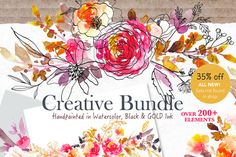 Posted by @newkoko2020 35% Off- Creative Bundle Set by SmallHouseBigPony on @creativemarket