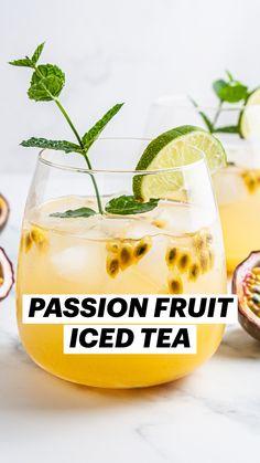 Best Nutrition Food, Proper Nutrition, Health And Nutrition, Healthy Food Choices, Healthy Drinks, Healthy Eating, Passion Fruit Juice, Smoothie Drinks, Tea Drinks