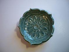Various Blues-- Starburst  Lotus Bowls