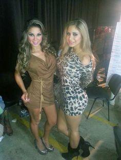 Thelma Ortigoza & Judith Gamarra
