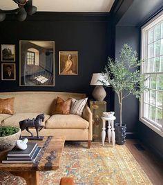 Home Living Room, Living Room Designs, Living Room Decor, Living Spaces, Room Inspiration, Family Room, Interior Decorating, New Homes, House Design