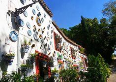 Spain Granada Sacromonte - house displaing local pottery #trivo