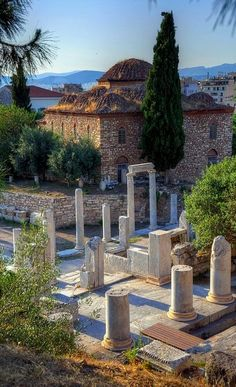 Ancient Agora ~ Athens, Greece | Flickr - Photo by Gedsman