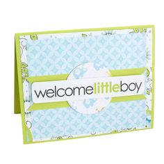 Welcome Little Boy Scrapbooking Card Idea from Creative Memories, Detailed Instructions: http://projectcenter.creativememories.com/photos/our_newest_project_ideas/welcome-little-boy-scrapbooking-card-idea.html