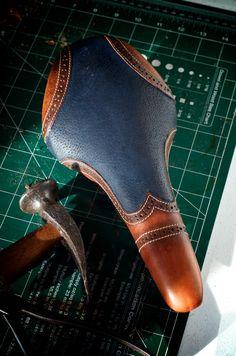 Custom Leather Bike Seat by LEH SPLY&MFG