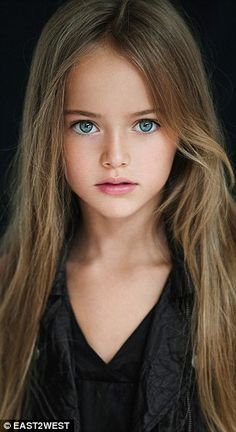 World's most beautiful girl Kristina Pimenova's mother defends pictures | Daily Mail Online^is she the most beautiful, idk but she is pretty (she's a vouge model and she's only 10)