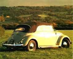 Production Changes Production of the Karmann four-seater cabriolet began in June 1949 and its development ran roughly parallel to its 'tin-top' sister.