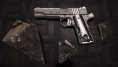 Behold, $4.5 Million One-of-a-Kind Meteorite Handguns