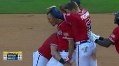 Peterson hits walk-off single in the 11th