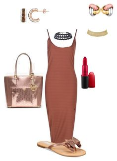"""""""Untitled #1967"""" by yvettestarr on Polyvore featuring Boohoo, BillyTheTree, Charlotte Russe and MAC Cosmetics"""