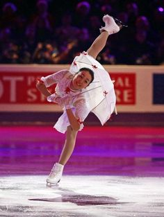 Mao Asada of Japan performs during the exhibition program at the World Figure Skating Championships Sunday, March 17, 2013, in London, Ontario.
