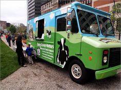 Ben & Jerry's Ice Cream truck.