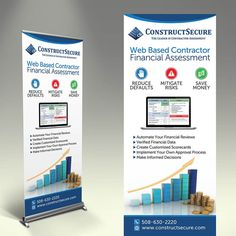 ConstructSecure Financial Banner by inventivao