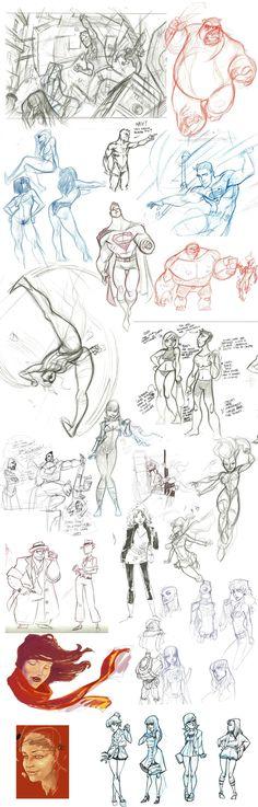 Sketch Dump Vol. 7 by Kanish.deviantart.com on @deviantART