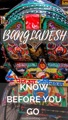 Intersted in travel to Bangladesh? Check out this Bangladesh travel guide, packed with know before you go travel tips, especially for solo female travel.