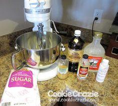 CookieCrazie: CookieCrazieBasics: Glaze Icing Recipe