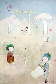 Los encuentros by paola zakimi