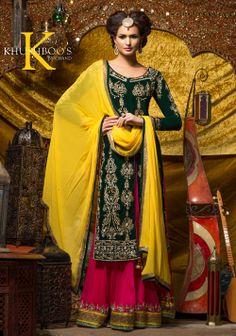 Gorgeous Colours. Mehndi Outfit.