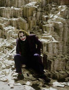 The Joker/Heath Ledger in The Dark Knight