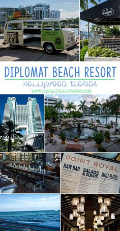This summer venture to Hollywood, Florida to dip, dine, and relax at the newly transformed Diplomat Beach Resort after its $100 million dollar makeover!