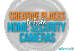 Creative Places to Hide Your Home Security Cameras Wireless Security Cameras, Wireless Home Security Systems, Security Camera System, Security Alarm, Safety And Security, Video Security, Home Security Tips, Security Cameras For Home, Covert Cameras