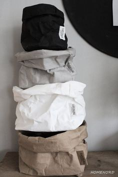 Uashmama Washable Paper Bags - Stocked by Us from June. uniek.dk