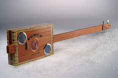 Check out this impossibly slick handmade guitar from one of our members.