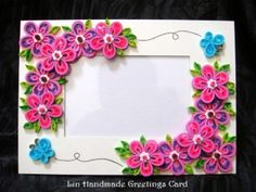 Personalized diy Purple Paper Roses Heart in frame - wall decoration, paper roses crafts - LoveItSoMuch.com
