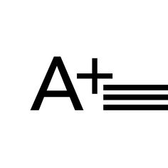 Adidas Logo A+ Plus-  'Always Strive to Achieve Your Best, Because In The End It Will Be Worth That A+'  -Torishéju Francesca Dumi