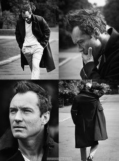 El actor Jude Law, protagonista de la serie The Young Pope es capturado por el lente de Simon Emmett en la edición de Octubre de Esquire UK
