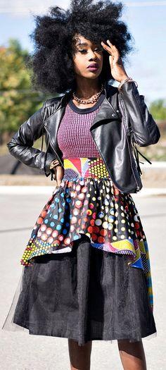 NEW Zoe Ankara African Print Fabric Skirt. Evening and party skirt. Made of 100% cotton Dutch wax fabric. Modern African skirt style.  Ankara | Dutch wax | Kente | Kitenge | Dashiki | African print bomber jacket | African fashion | Ankara bomber jacket | African prints | Nigerian style | Ghanaian fashion | Senegal fashion | Kenya fashion | Nigerian fashion | Ankara crop top (affiliate)