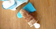 Παγωτό παρφέ καρύδα με σοκολάτα