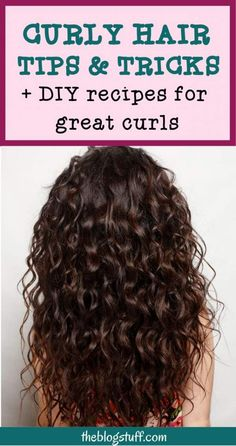 Curly Hair Routine For Your Best Curls Ever! [+DIY curl cream recipe]