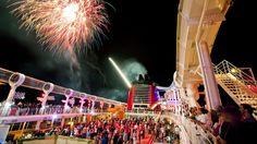 Disney fireworks + cruise? Yes!