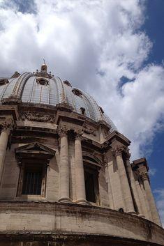 Vista para a cúpula do Vaticano. #vaticano #italia #europa