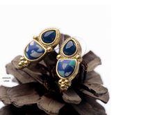 Ref: LP006 Azulejo . Medidas: 2.4 cm x 1 cm . So Oh: 3.99 . Disponível para entrega imediata! Boas compras! #sooh_store #onlinestore #brincos #earrings #fashion