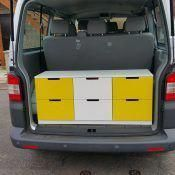 camperizar caddy con muebles de ikea