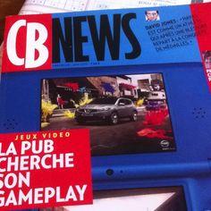 CB News parle de pub et de jeu video! #gaming