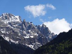 Towards Schwarzhorn Switzerland