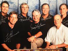 Dallas Cowboys quarterbacks Danny White, Troy Aikman, Don Meredith, Eddie LeBaron, Craig Morton, RogerStaubach