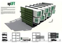 Container Hotel, Cargo Container Homes, Container Design, Module Architecture, Container Architecture, Sustainable Architecture, Shipping Container Buildings, Shipping Container Homes, Prefabricated Houses