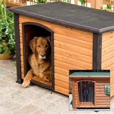 Help your dog beat the heat and bear the cold with the Precision Pet Extreme Log Cabin Dog House . This dog house features solid fir wood construction. Outdoor Shelters, Outdoor Dog, Outdoor Life, Outdoor Living, Wood Dog House, Dog House For Sale, Small Dog House, Roof Design, Animal House