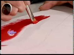 Mónica Sayous - Bienvenidas TV - Pinta un Cuadro de Ajíes Rojos. - YouTube Art Tutorials, Multimedia, Abstract, Tv, Youtube, Painting Videos, Blue Prints, Summary, Television Set